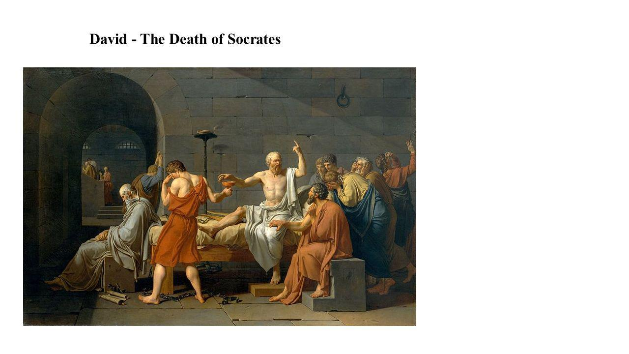 David - The Death of Socrates
