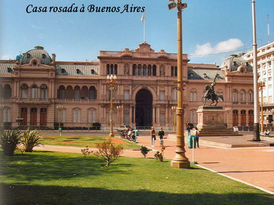 Casa rosada à Buenos Aires