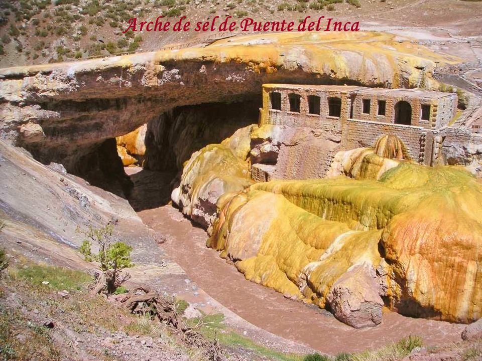 Arche de sel de Puente del Inca