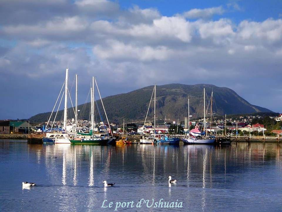 Le port d Ushuaia