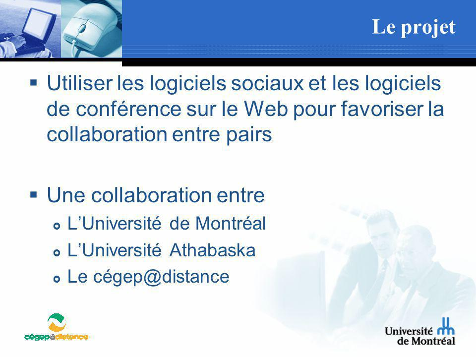 Une collaboration entre