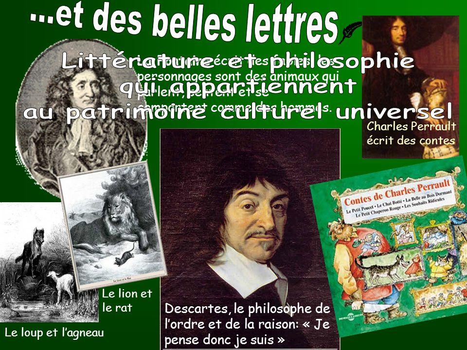 Littérature et philosophie au patrimoine culturel universel