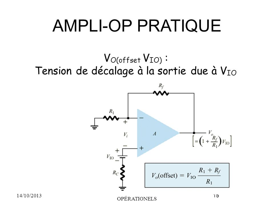 AMPLI-OP PRATIQUE VO(offset VIO) :
