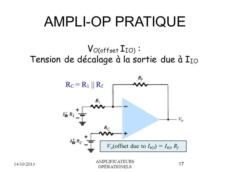 AMPLI-OP PRATIQUE VO(offset IIO) :