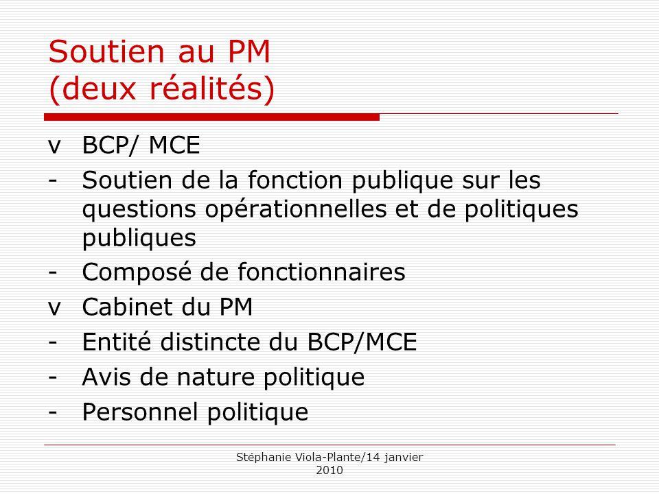 Soutien au PM (deux réalités)