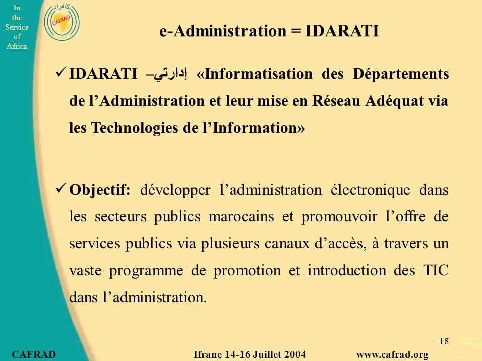 e-Administration = IDARATI