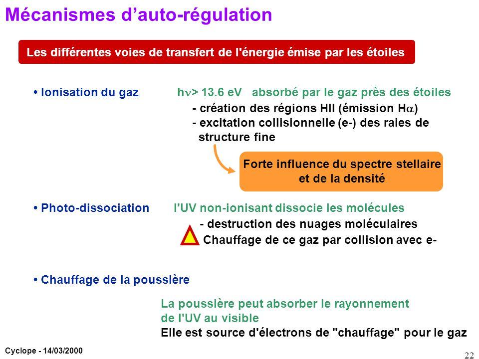 Mécanismes d'auto-régulation