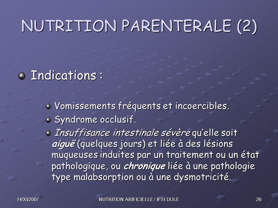 NUTRITION PARENTERALE (2)