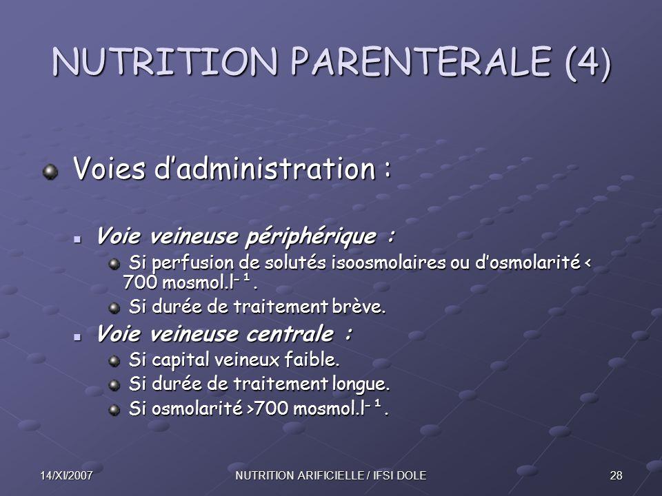 NUTRITION PARENTERALE (4)