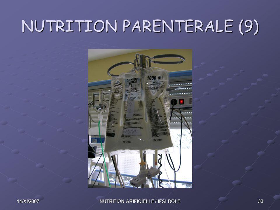 NUTRITION PARENTERALE (9)