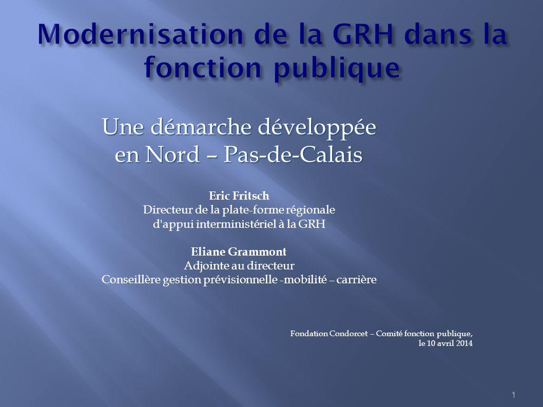 Modernisation de la GRH dans la fonction publique