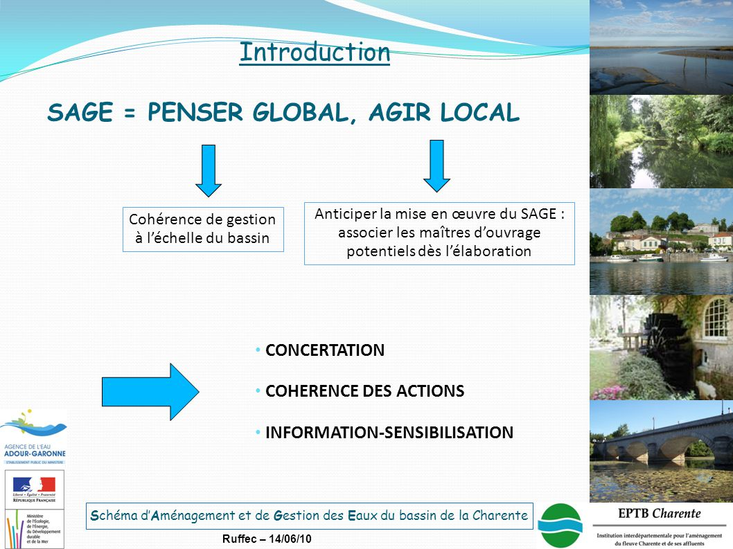 SAGE = PENSER GLOBAL, AGIR LOCAL