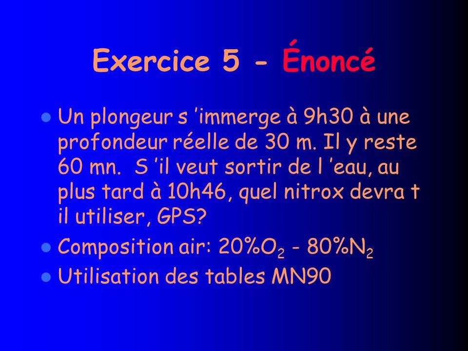 Exercice 5 - Énoncé