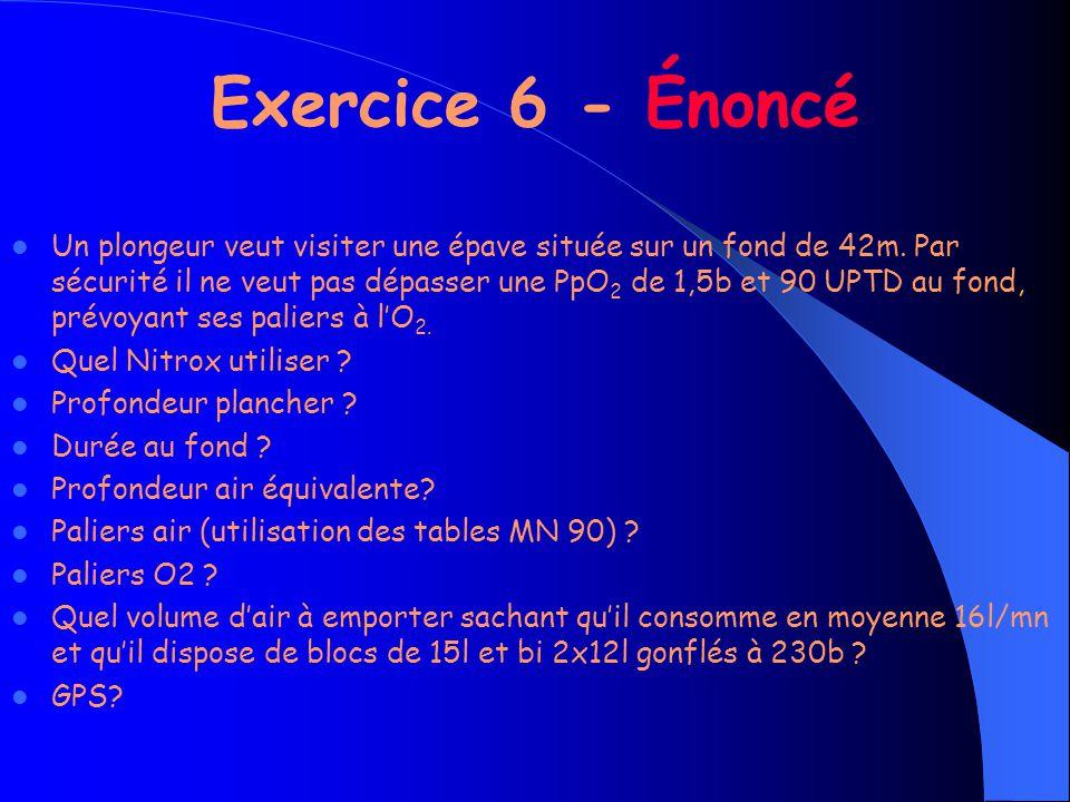 Exercice 6 - Énoncé