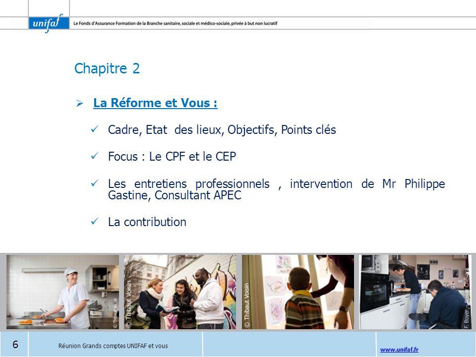 Cadre, Etat des lieux, Objectifs, Points clés Focus : Le CPF et le CEP