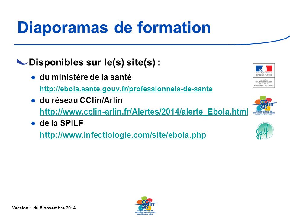 Diaporamas de formation