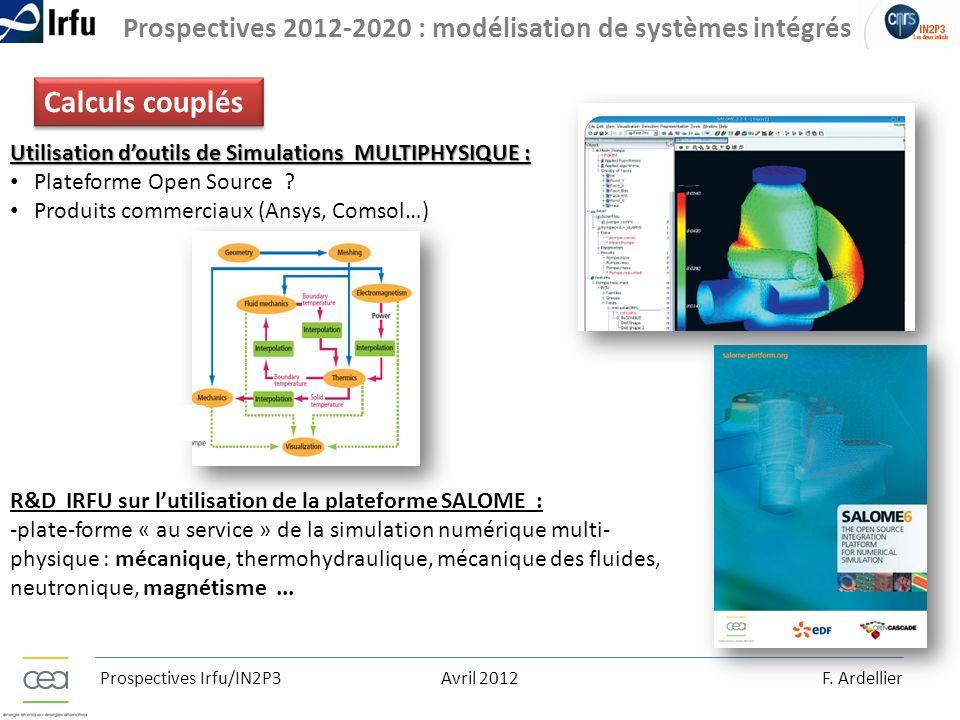 Prospectives 2012-2020 : modélisation de systèmes intégrés