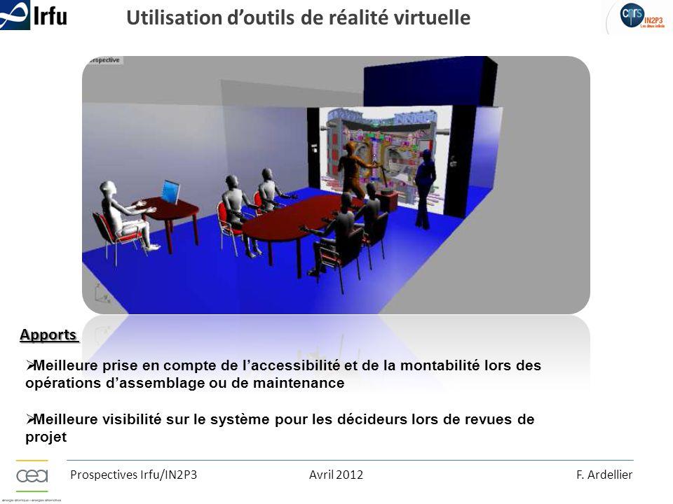 Utilisation d'outils de réalité virtuelle