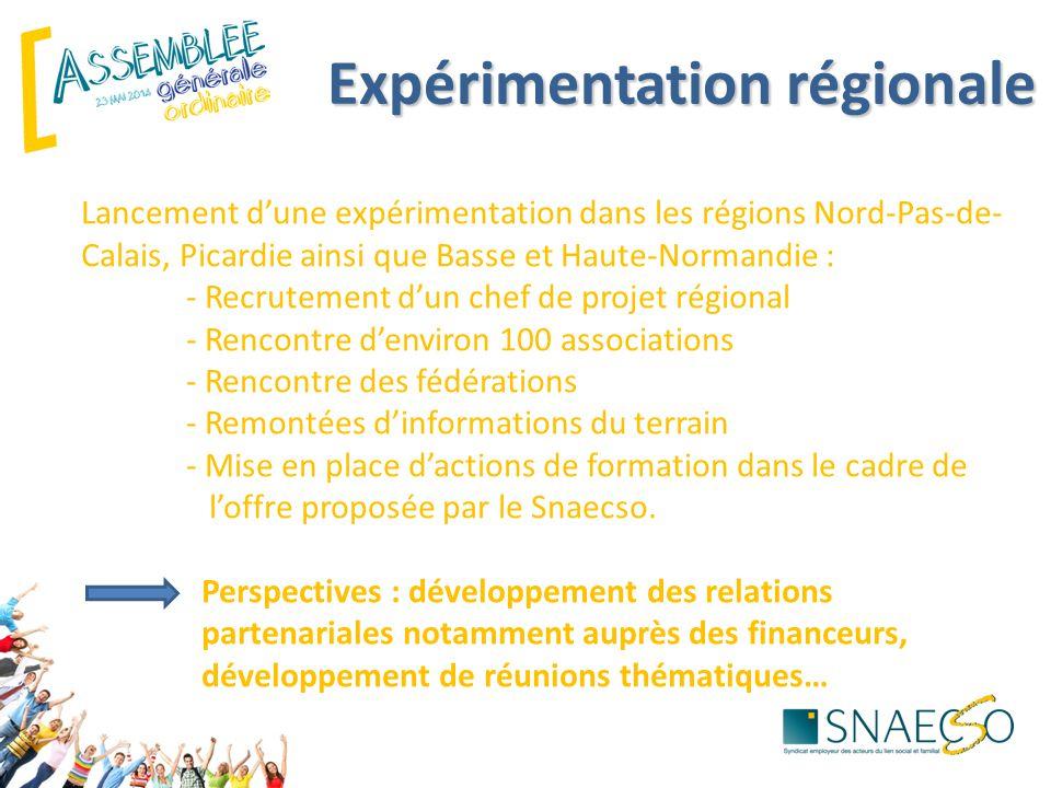Expérimentation régionale