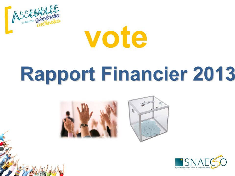 vote Rapport Financier 2013