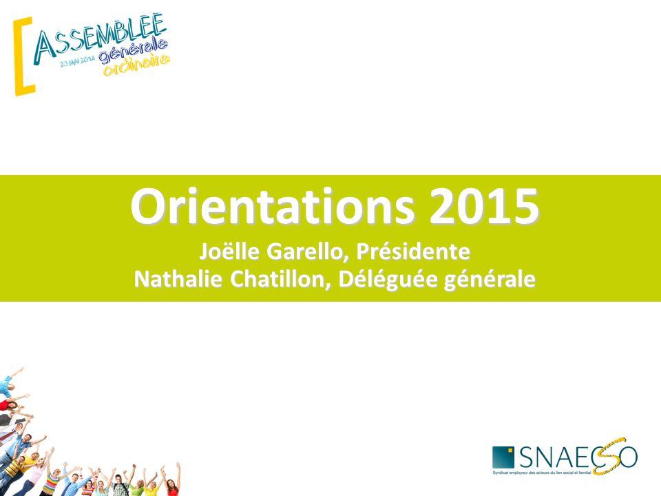 Joëlle Garello, Présidente Nathalie Chatillon, Déléguée générale