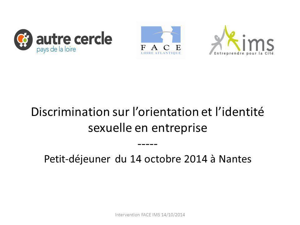 Discrimination sur l'orientation et l'identité sexuelle en entreprise