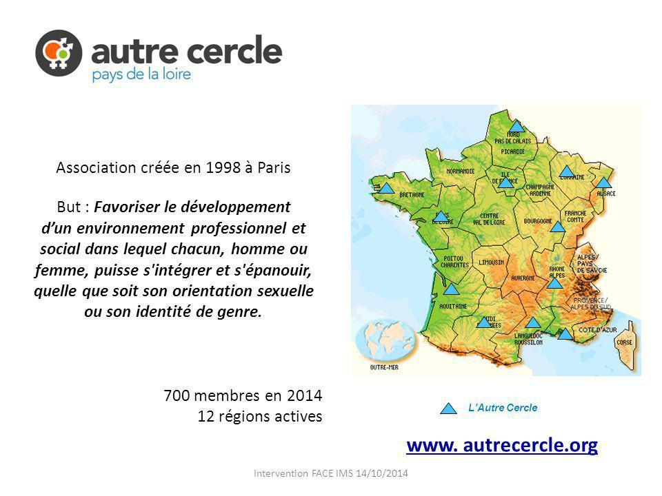 www. autrecercle.org Association créée en 1998 à Paris