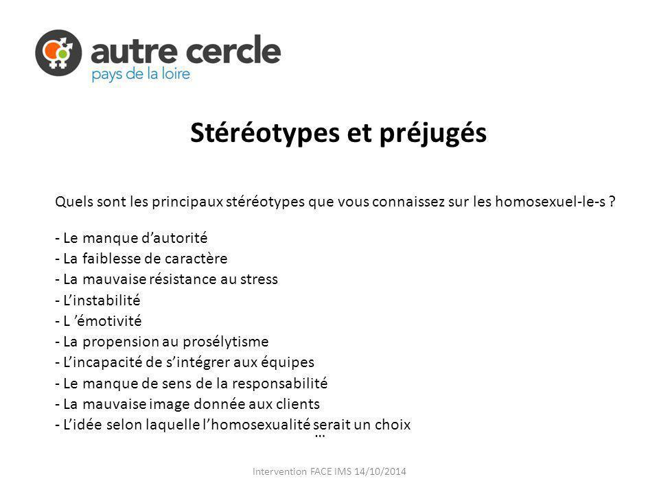 Stéréotypes et préjugés
