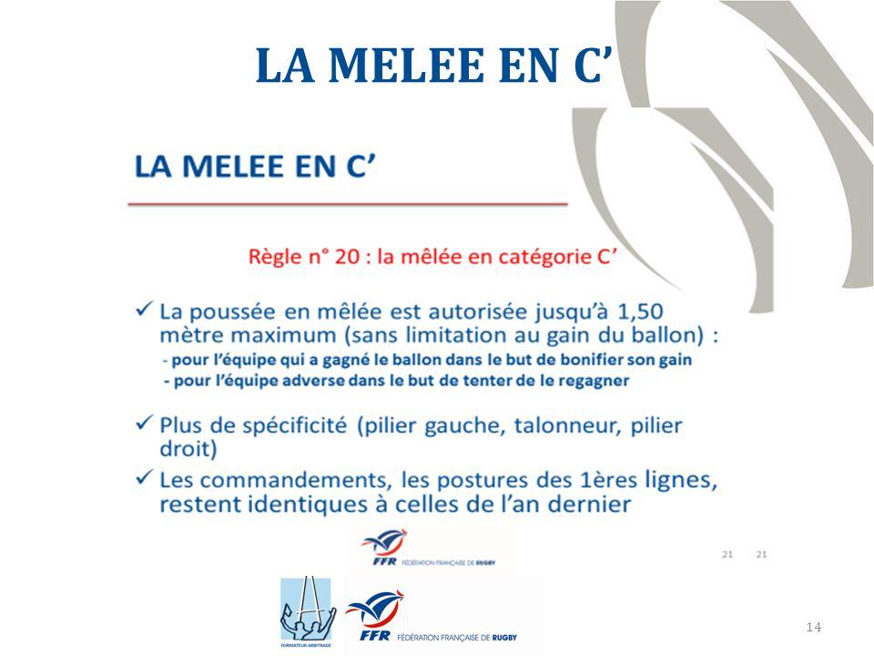 LA MELEE EN C'