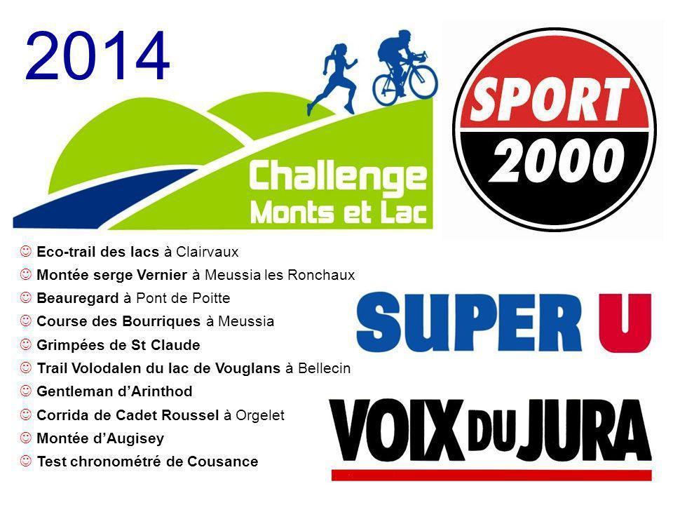 2014 Eco-trail des lacs à Clairvaux