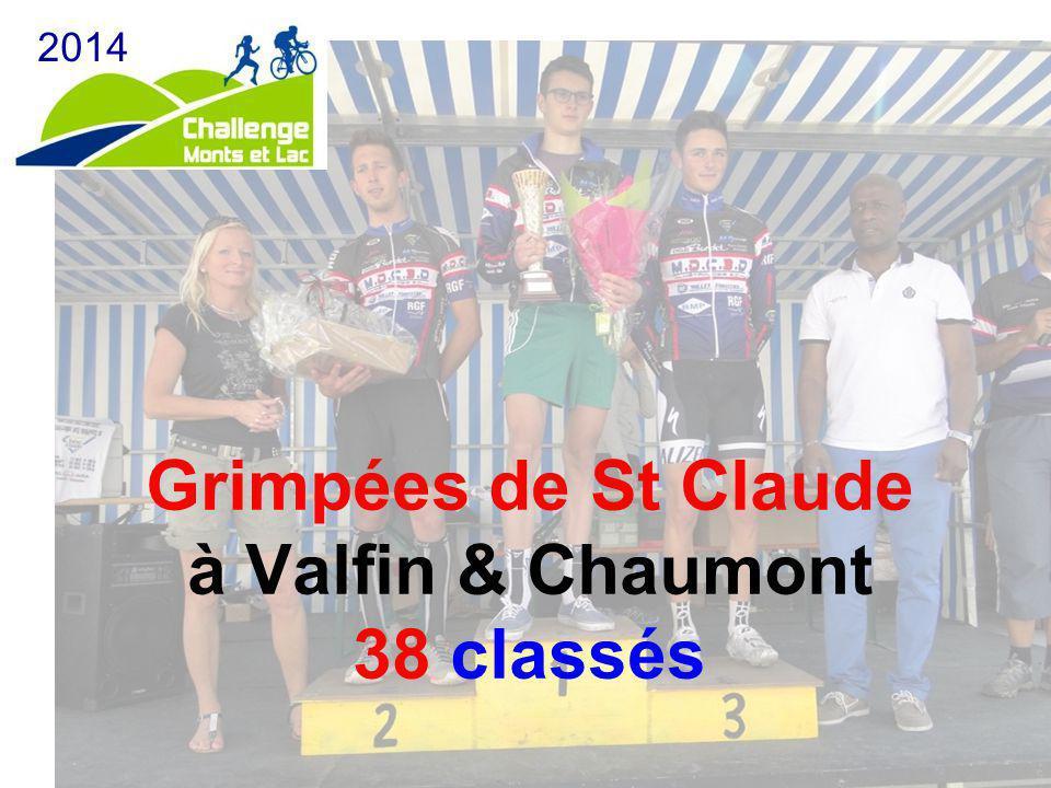 Grimpées de St Claude à Valfin & Chaumont 38 classés