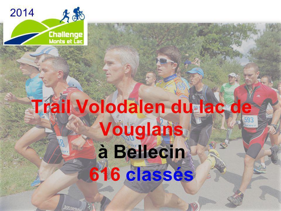 Trail Volodalen du lac de Vouglans à Bellecin 616 classés
