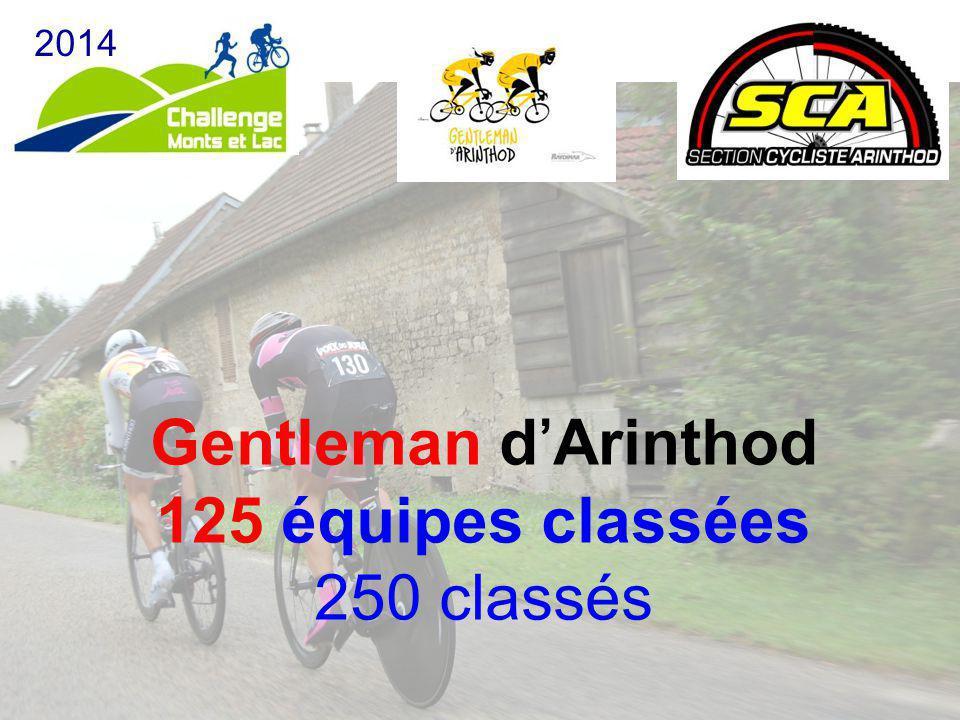 Gentleman d'Arinthod 125 équipes classées 250 classés