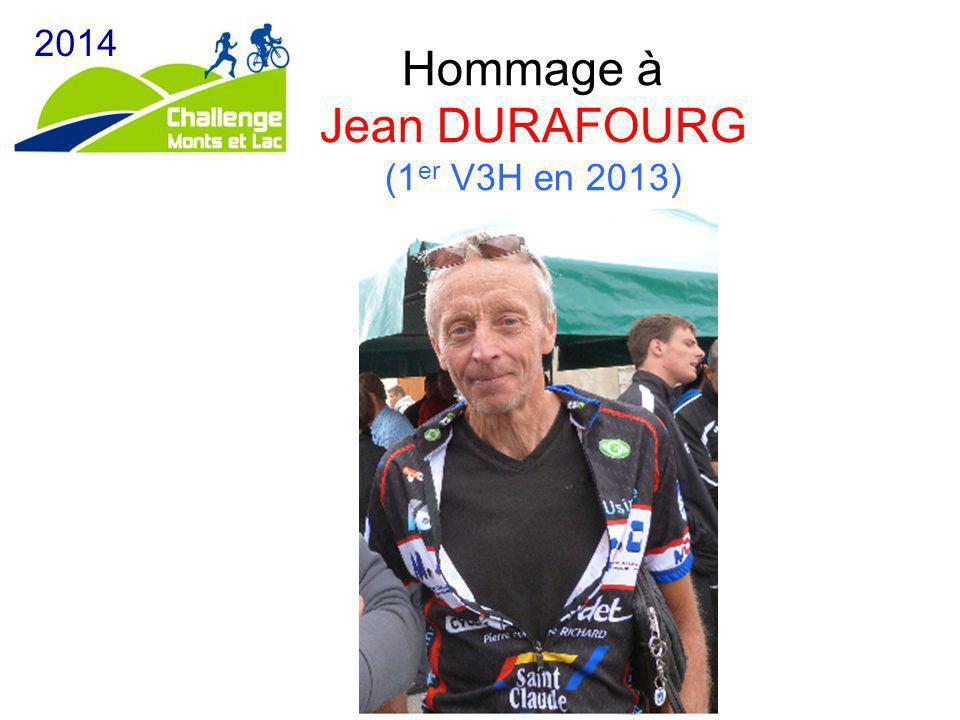 Hommage à Jean DURAFOURG (1er V3H en 2013)