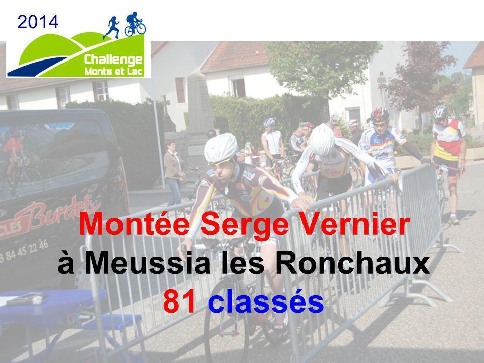 Montée Serge Vernier à Meussia les Ronchaux 81 classés