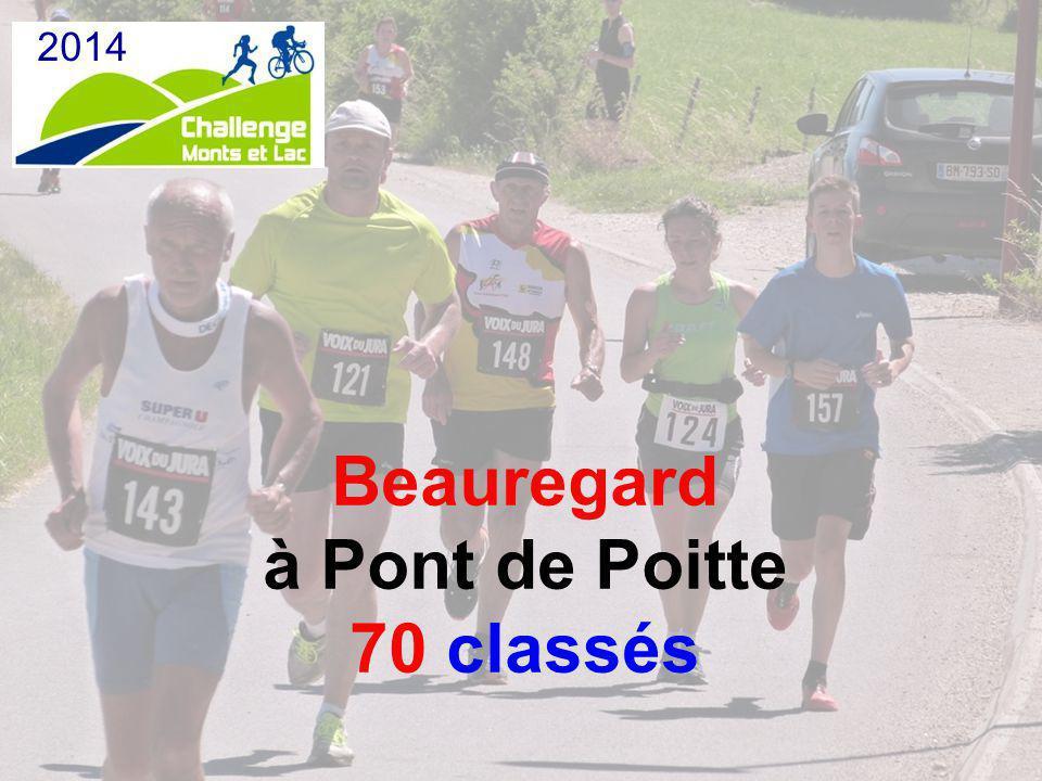 Beauregard à Pont de Poitte 70 classés