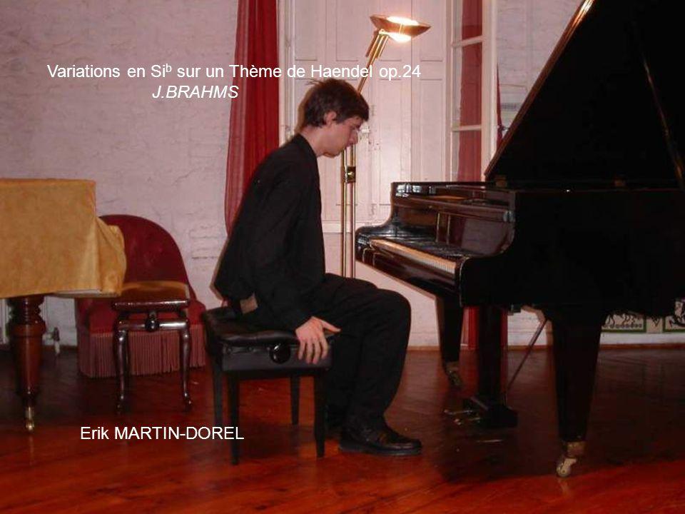 Variations en Sib sur un Thème de Haendel op.24