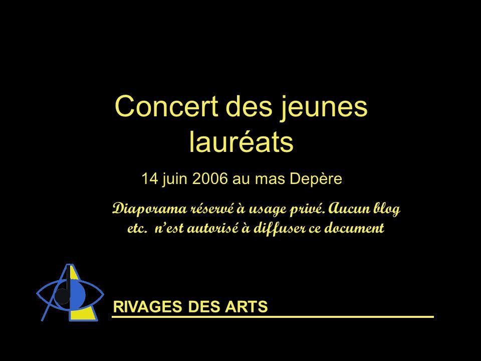 Concert des jeunes lauréats