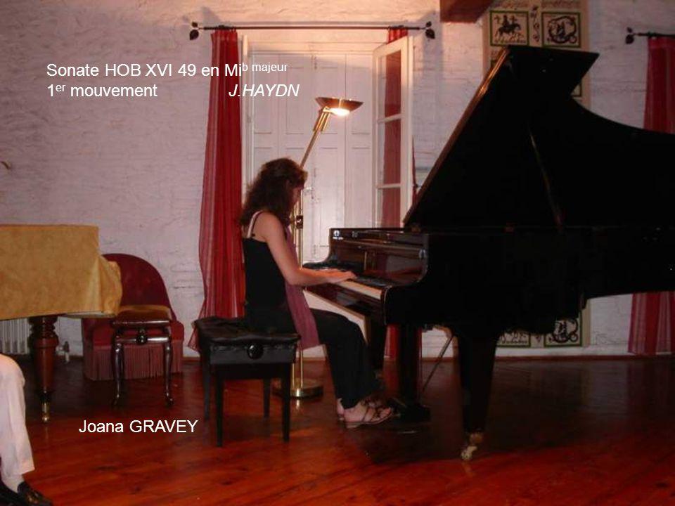 Sonate HOB XVI 49 en Mib majeur
