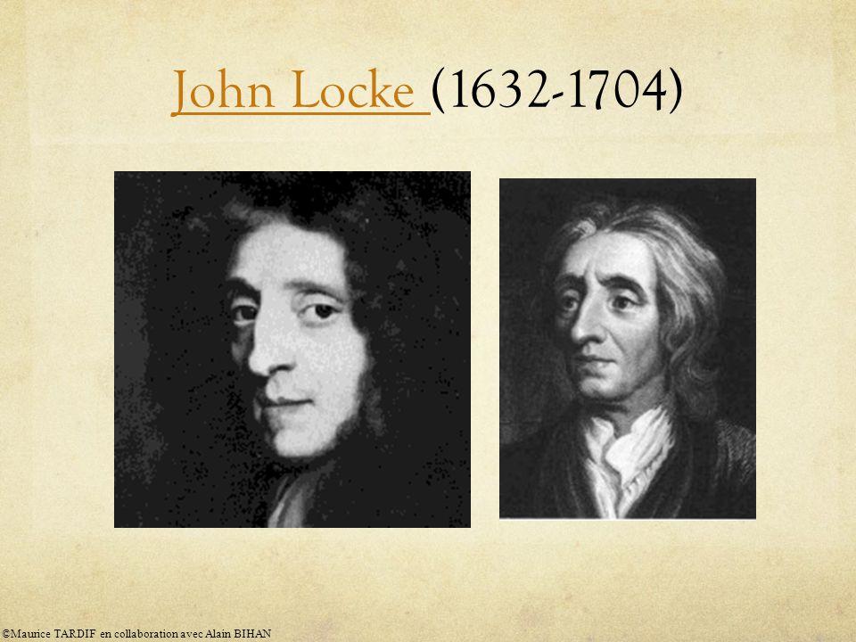 John Locke (1632-1704) ©Maurice TARDIF en collaboration avec Alain BIHAN