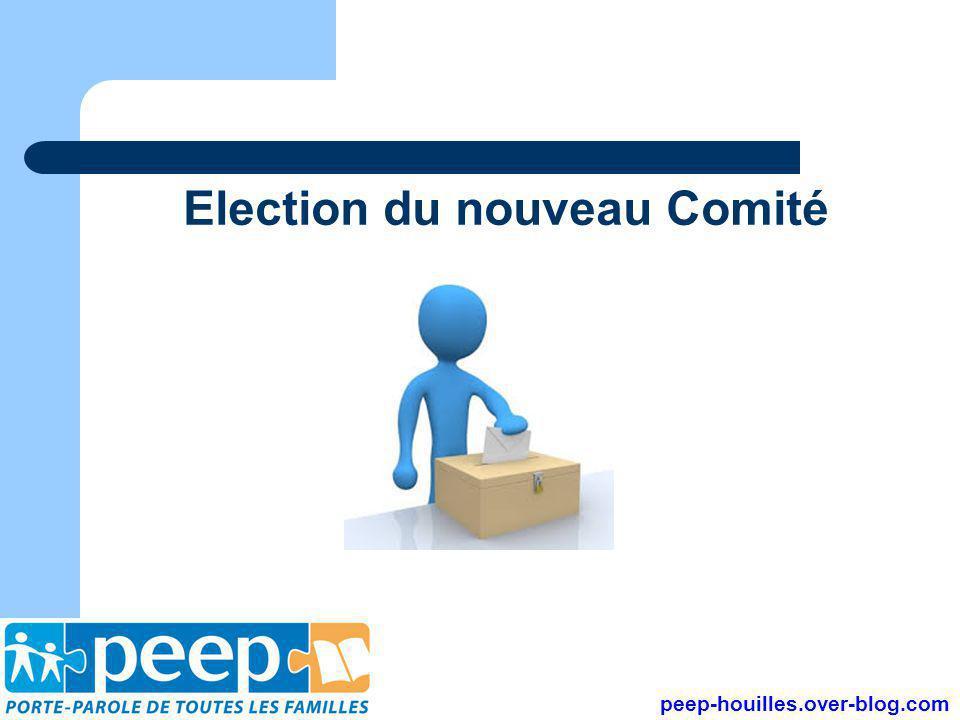 Election du nouveau Comité