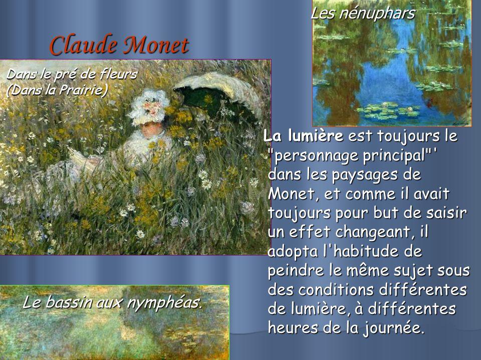 Claude Monet Les nénuphars