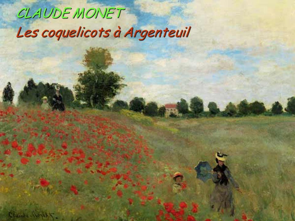 Les coquelicots à Argenteuil