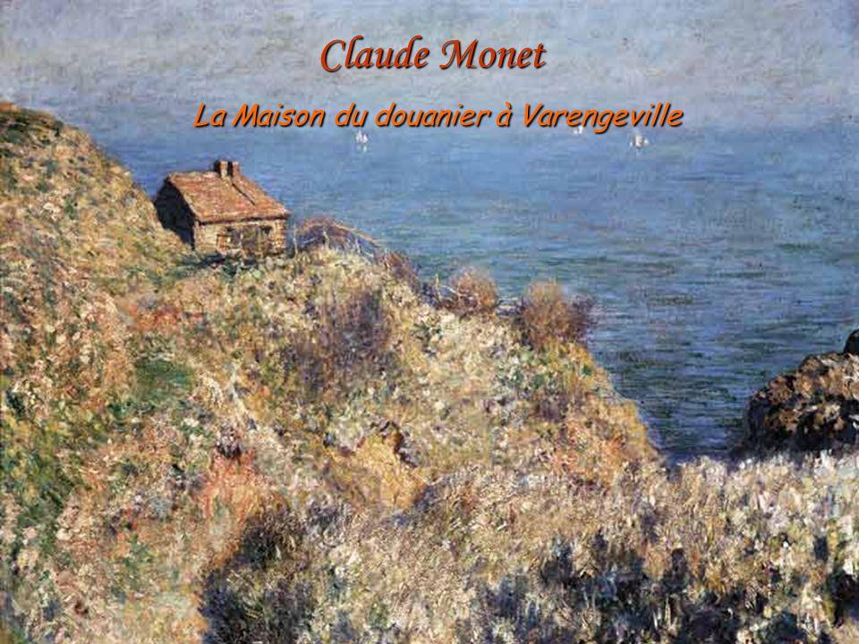 Claude Monet La Maison du douanier à Varengeville