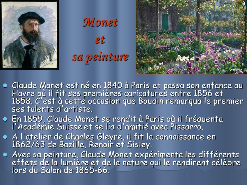 Monet et sa peinture