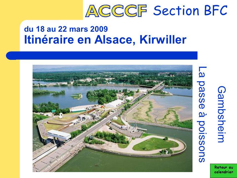 du 18 au 22 mars 2009 Itinéraire en Alsace, Kirwiller