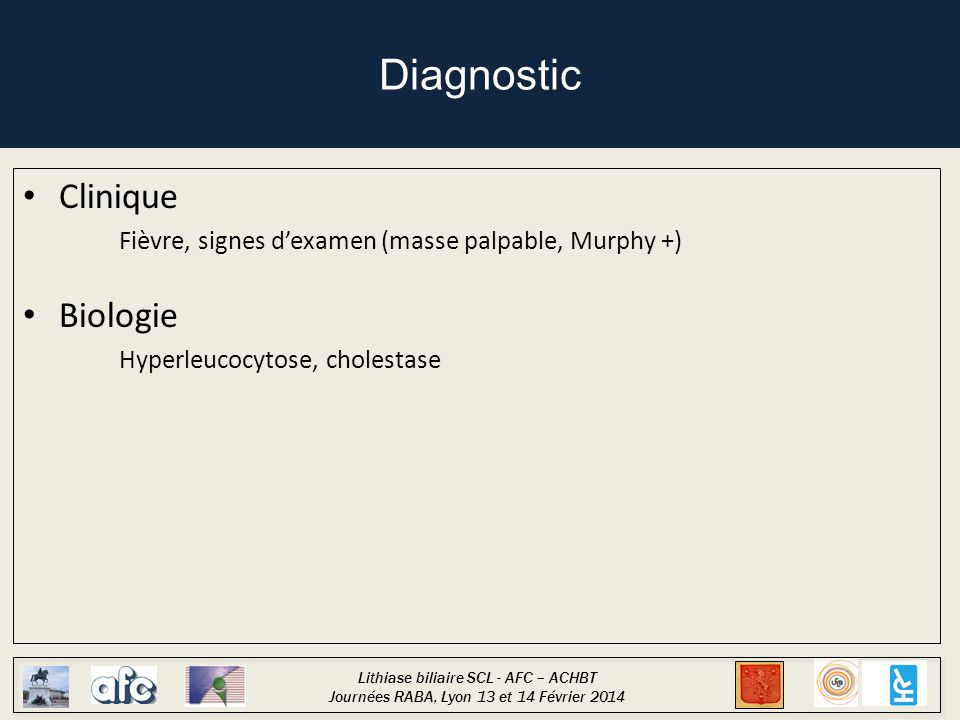 Diagnostic Clinique Biologie