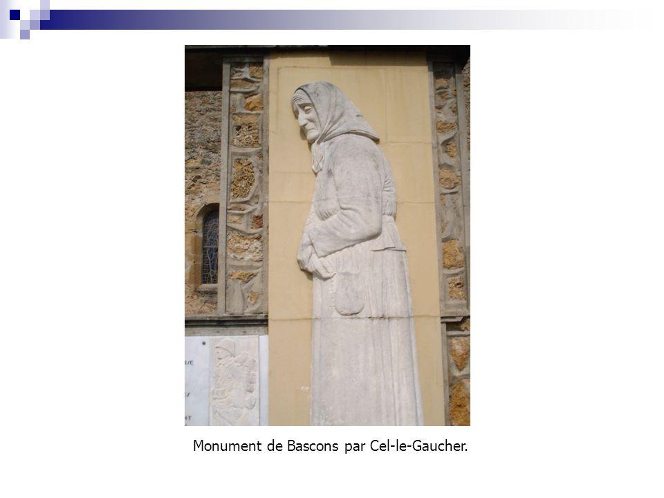 Monument de Bascons par Cel-le-Gaucher.