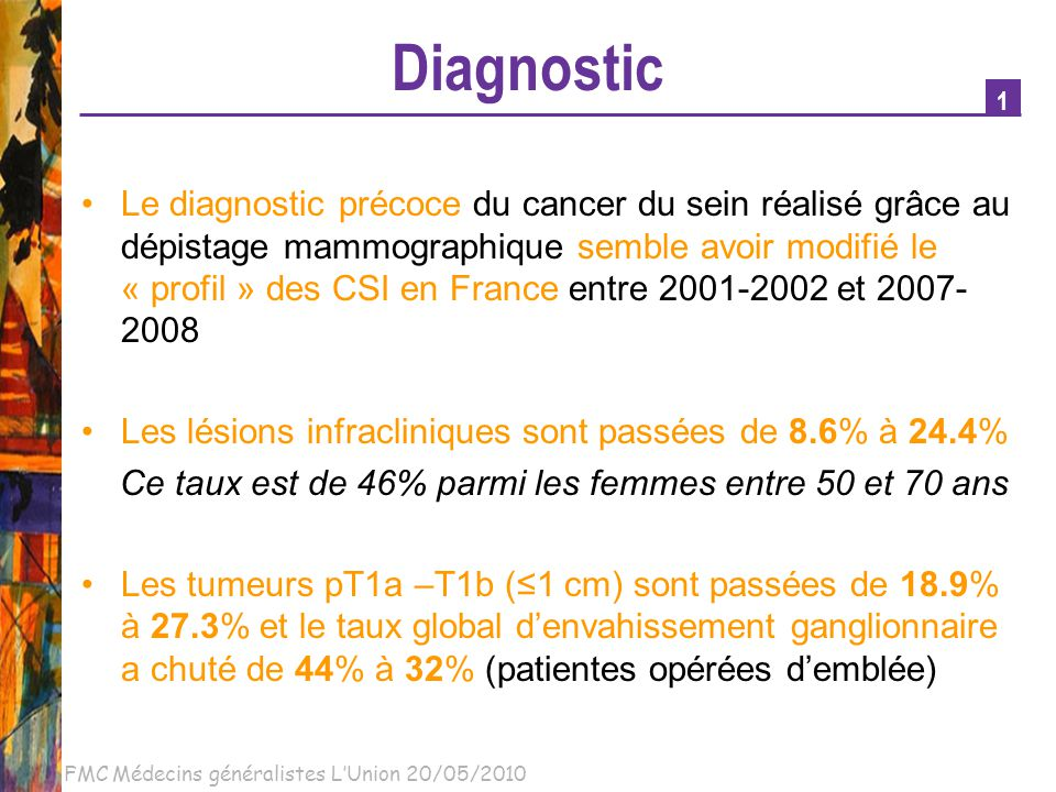 Diagnostic 1.