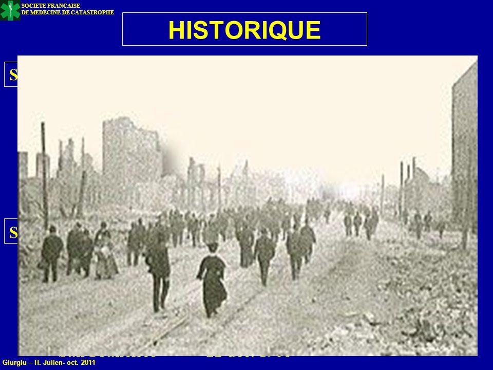 HISTORIQUE SEISMES DESTRUCTEURS Shaanxi 02 02 1556 830 000 Morts